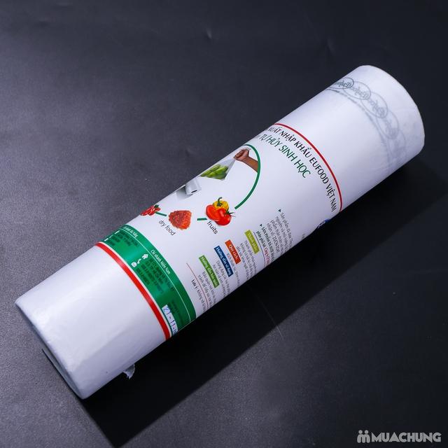 1kg Túi đựng thực phẩm tự hủy sinh học 30x45cm - 5