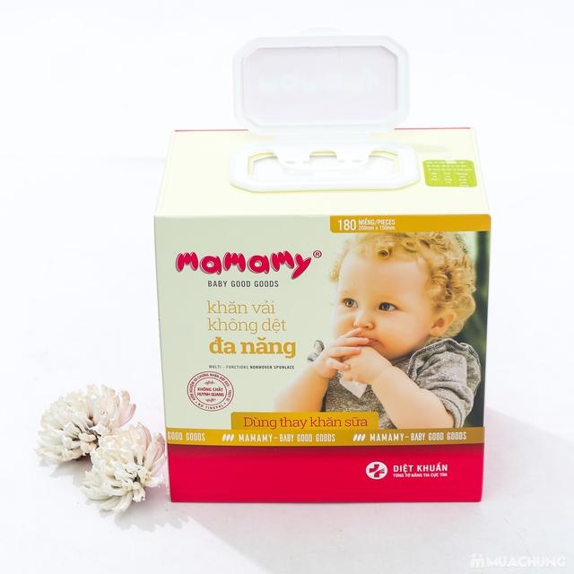 03 hộp khăn cotton đa năng Mamamy (180 tờ/1 hộp) - 14