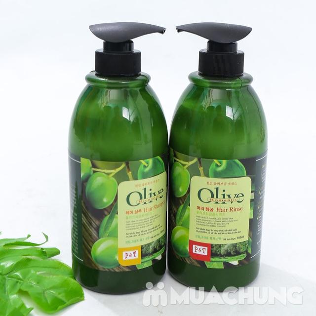 Bộ dầu gội & xả Olive Romantic 750ml/ chai - 8