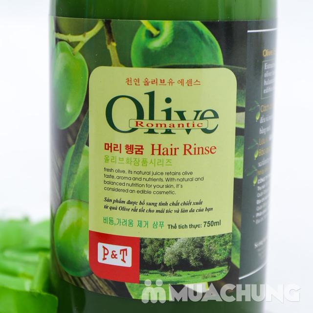 Bộ dầu gội & xả Olive Romantic 750ml/ chai - 13