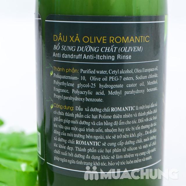 Bộ dầu gội & xả Olive Romantic 750ml/ chai - 14
