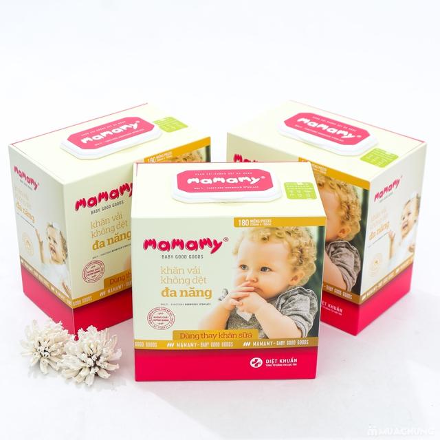 03 hộp khăn cotton đa năng Mamamy (180 tờ/1 hộp) - 13