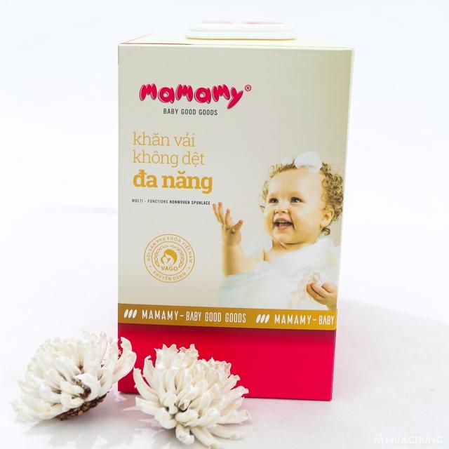 03 hộp khăn cotton đa năng Mamamy (180 tờ/1 hộp) - 8