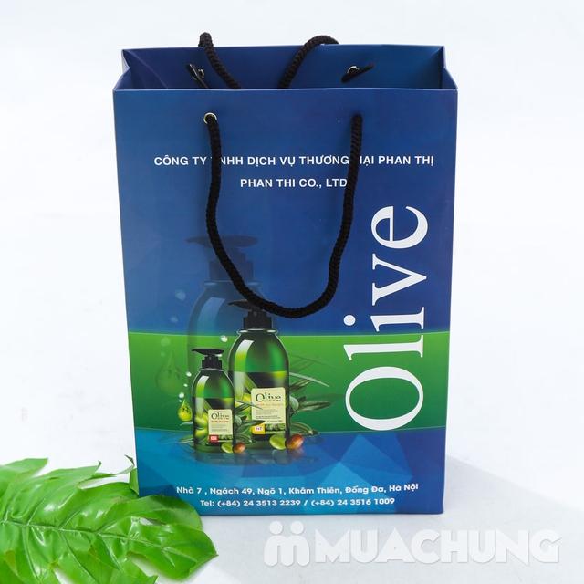 Bộ dầu gội & xả Olive Romantic 750ml/ chai - 9