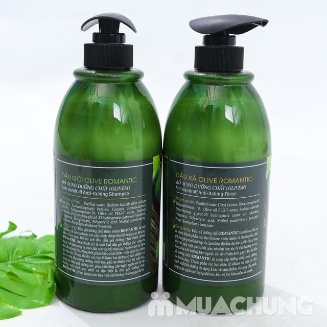 Bộ dầu gội & xả Olive Romantic 750ml/ chai - 15