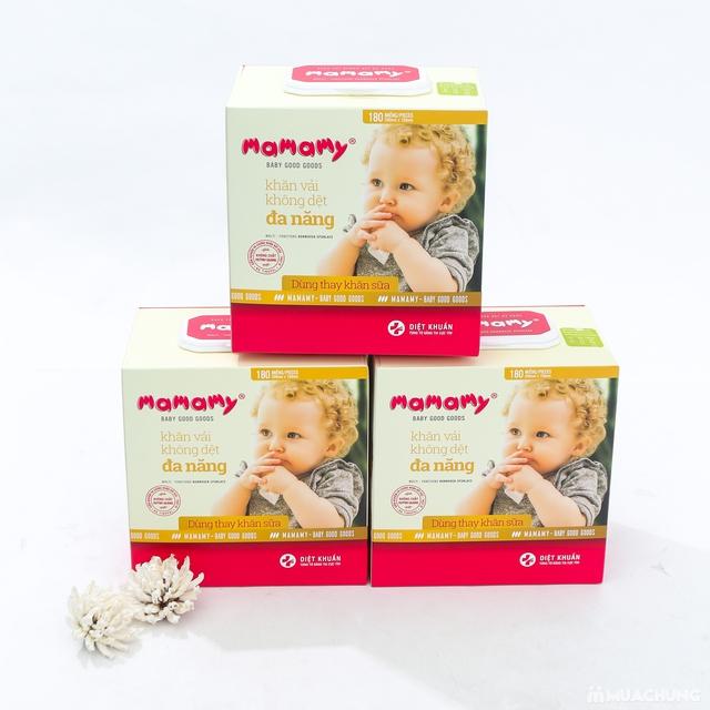 03 hộp khăn cotton đa năng Mamamy (180 tờ/1 hộp) - 12