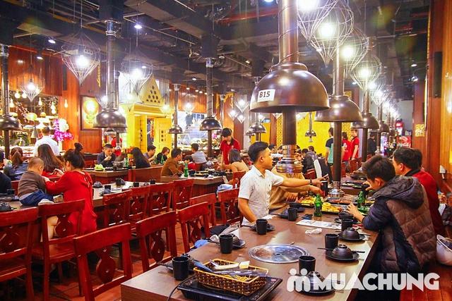 Buffet nướng lẩu menu VIP Thái BBQ Times City - 5