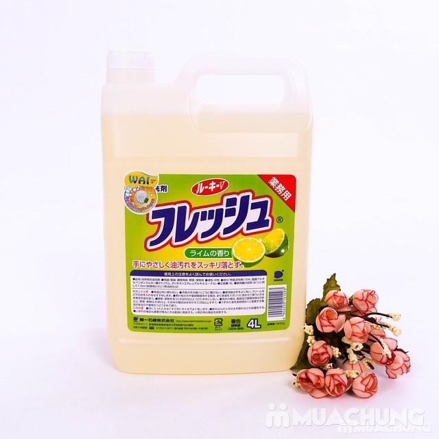 Nước rửa chén Wai hương chanh Wai 4L - 2