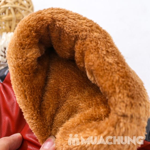 Găng tay lót lông dày dặn dùng cho lái xe máy - 10