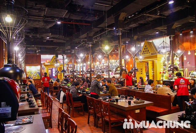 Buffet nướng lẩu cao cấp Thái BBQ Times City - 6