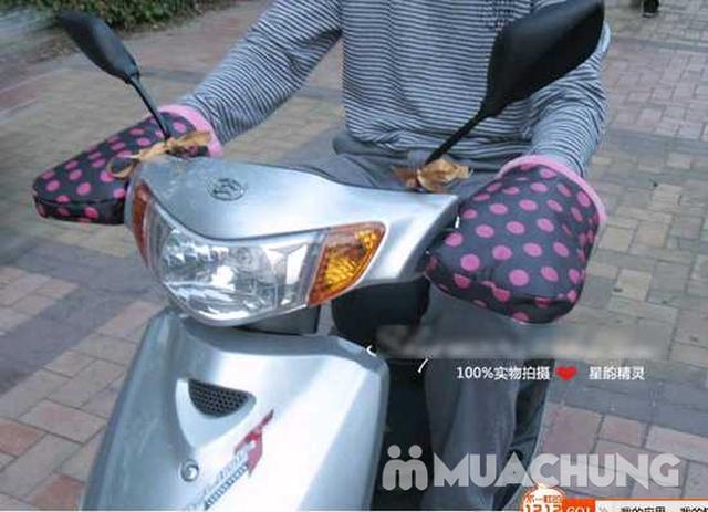 Găng tay lót lông dày dặn dùng cho lái xe máy - 15