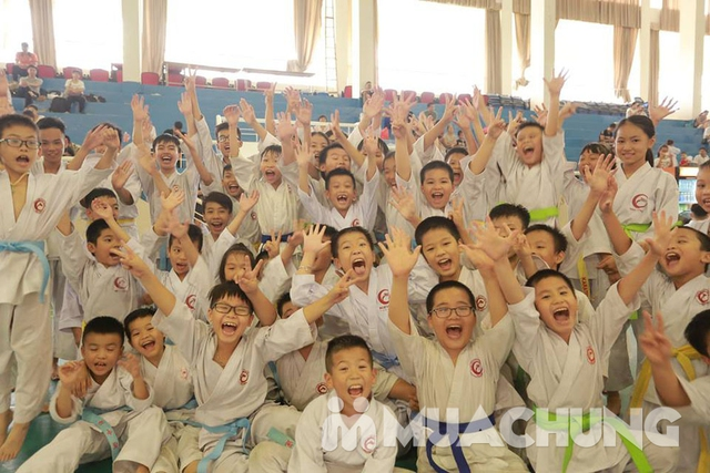 Khóa học Karatedo tại Hệ thống Võ Thuật Ngự Long - 22