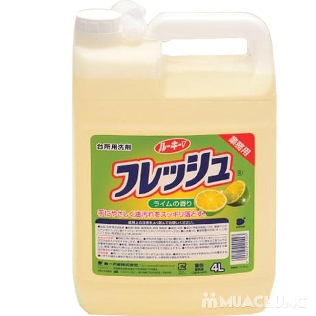 Nước rửa chén Wai hương chanh Wai 4L - 1