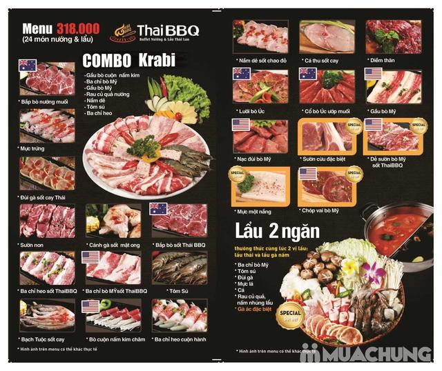 Buffet nướng lẩu Thái BBQ Lê Văn Lương menu VIP - 1