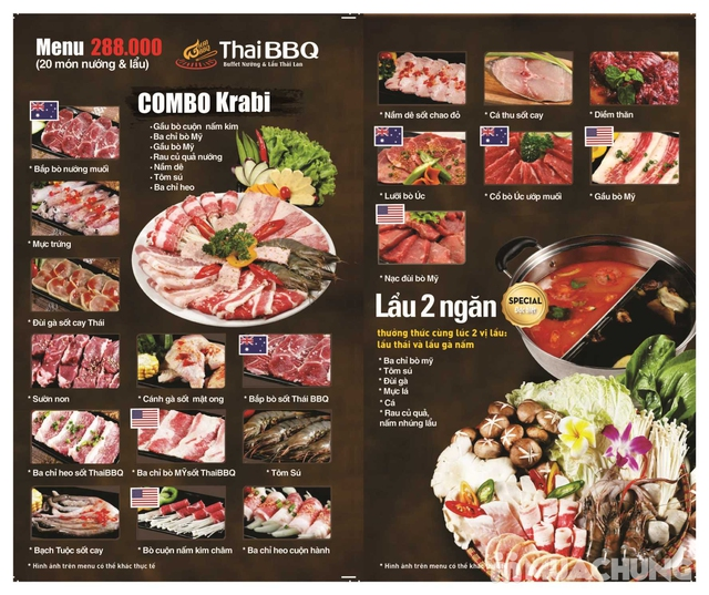 Buffet nướng lẩu đặc sắc Thái BBQ Lê Văn Lương - 1