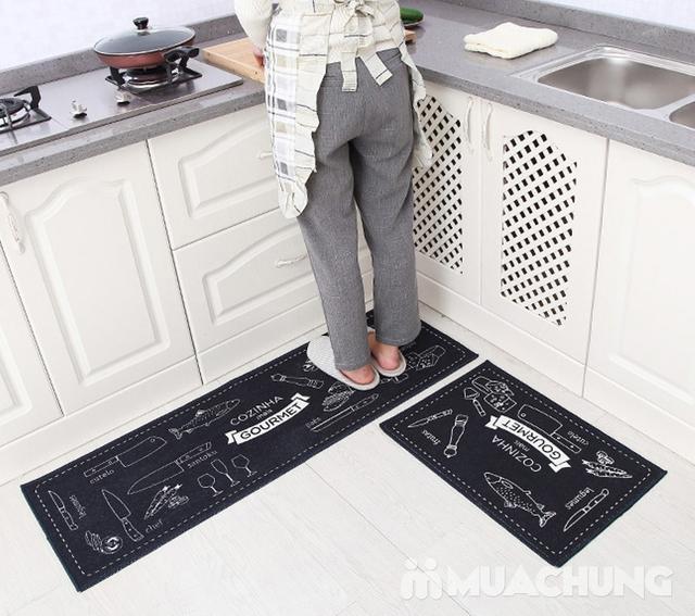 Bộ 2 thảm nhà bếp Carmi 35cmx50cm và 35cmx90cm - 7