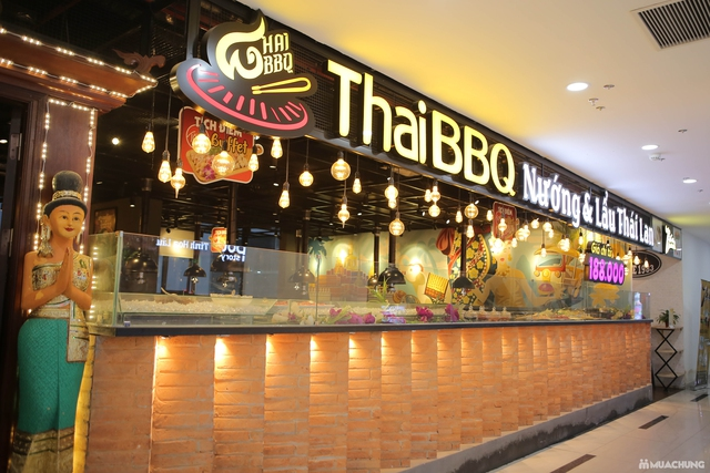 Buffet nướng lẩu đặc sắc Thái BBQ Lê Văn Lương - 2