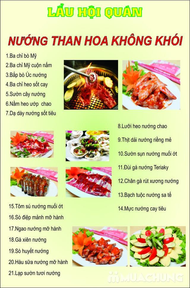 Buffet nướng BBQ Hàn Quốc Lẩu Hội Quán Hoàng Cầu - 9