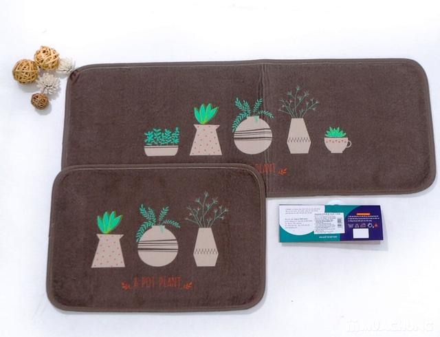 Bộ 2 thảm nhà bếp Carmi 35cmx50cm và 35cmx90cm - 12
