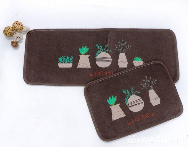 Bộ 2 thảm nhà bếp Carmi 35cmx50cm và 35cmx90cm - 10