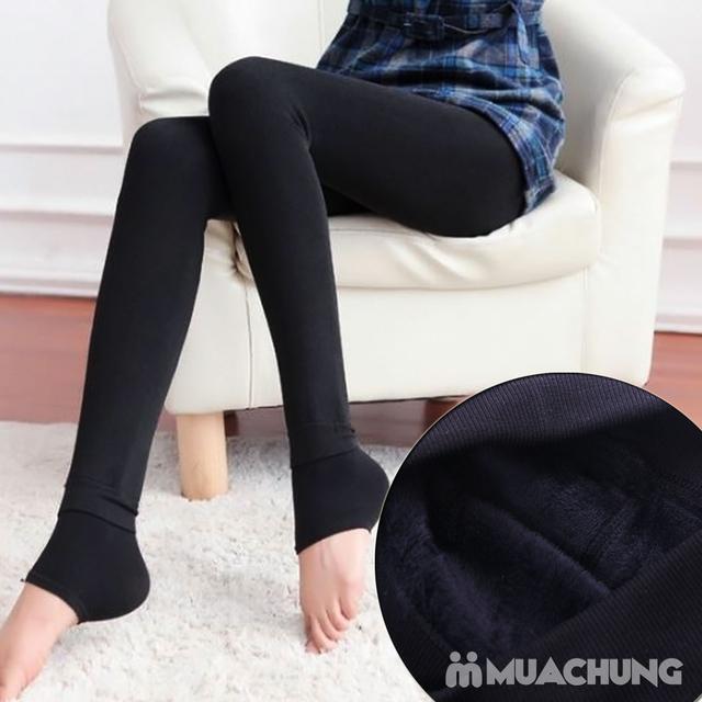 Combo 2 Quần tất lót lông cạp cao siêu ấm - 6