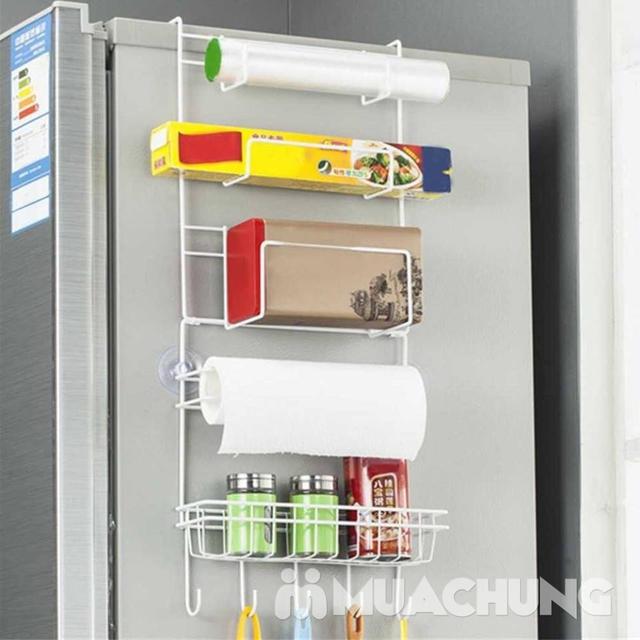 Kệ treo tủ lạnh đa năng, tiết kiệm diện tích - 11