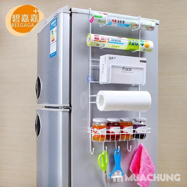 Kệ treo tủ lạnh đa năng, tiết kiệm diện tích - 9