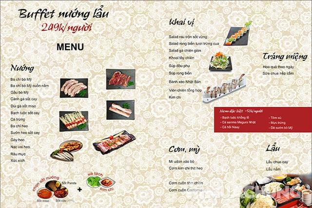 Buffet Nướng Lẩu ăn không giới hạn tại Panda BBQ   - 24