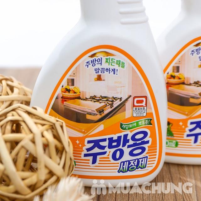 2 chai Nước xịt tẩy dầu mỡ nhà bếp Hàn Quốc - 7