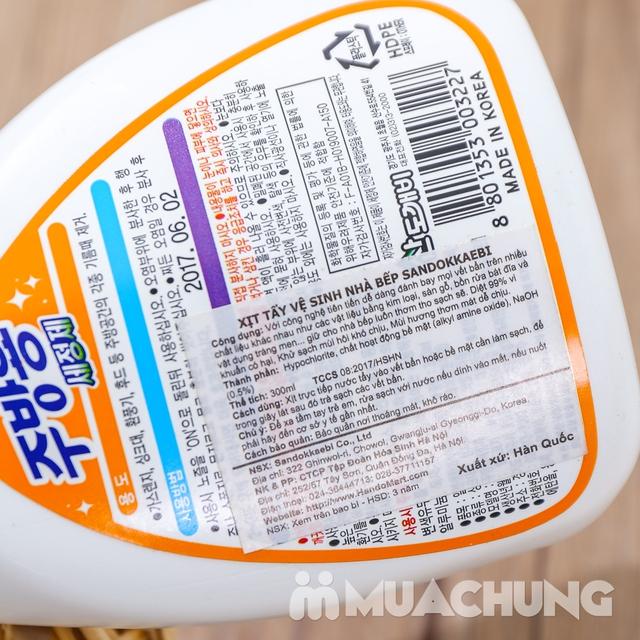 2 chai Nước xịt tẩy dầu mỡ nhà bếp Hàn Quốc - 9