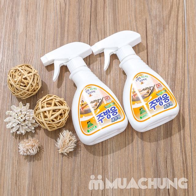 2 chai Nước xịt tẩy dầu mỡ nhà bếp Hàn Quốc - 11