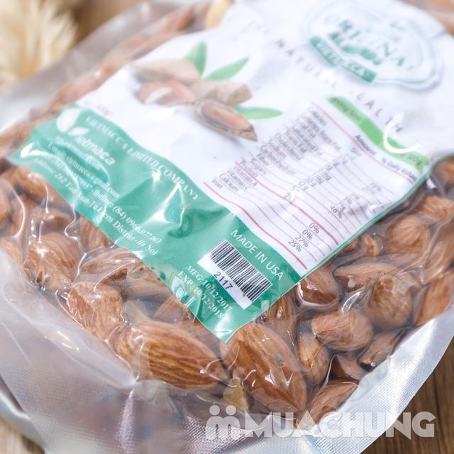 500g hạt hạnh nhân bóc vỏ nhập khẩu USA - 8