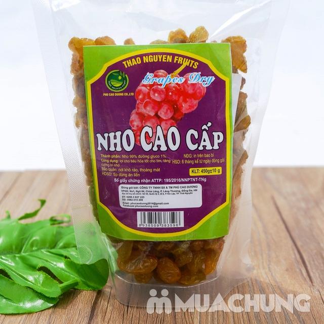 Nho cao cấp sấy Thảo Nguyên 450g dẻo ngọt tự nhiên - 5