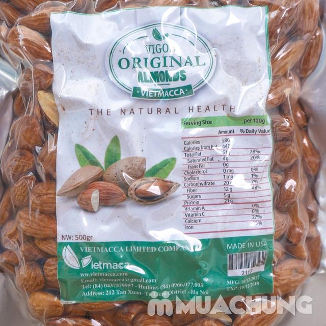 500g hạt hạnh nhân bóc vỏ nhập khẩu USA - 7