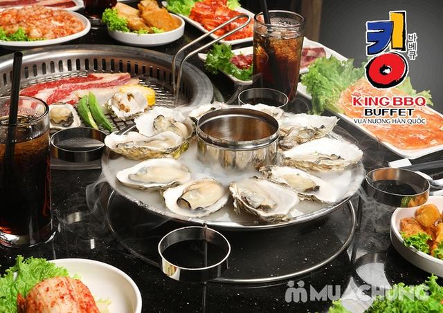 Buffet King BBQ - Vua nướng Hàn Quốc menu VIP 279k - 1