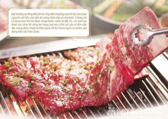 Buffet King BBQ - Vua nướng Hàn Quốc giá cực HOT - 3