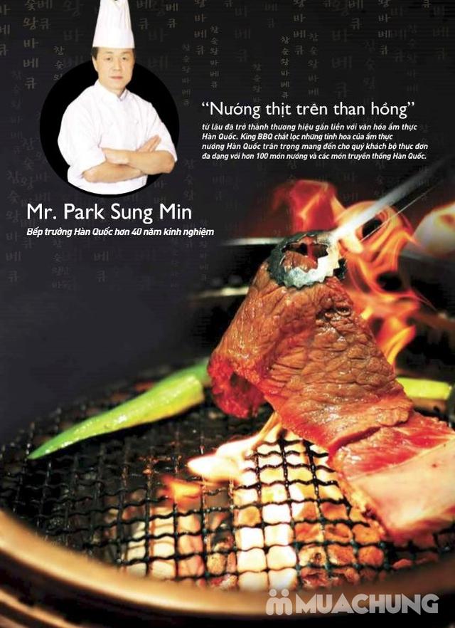 Buffet King BBQ - Vua nướng Hàn Quốc giá cực HOT - 1