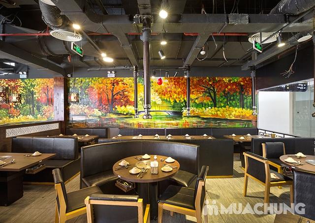 Buffet nướng lẩu cao cấp HongKong New free đồ uống - 36