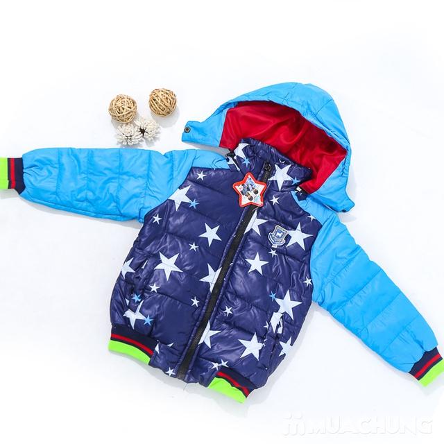 Áo phao lót lông họa tiết ấm áp cho bé trai - 8