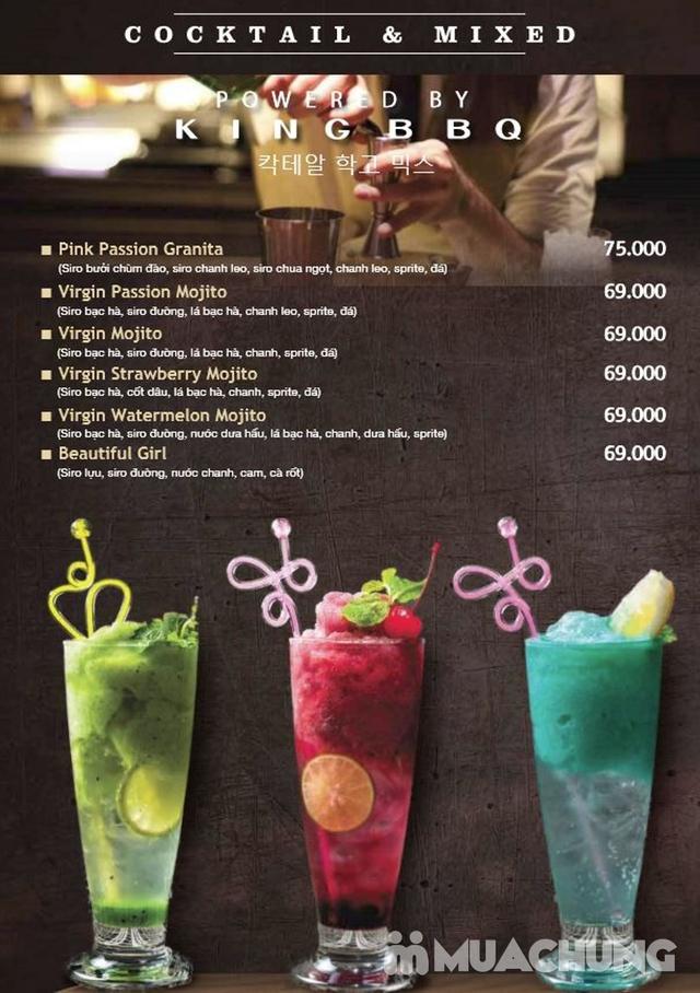 Buffet King BBQ - Vua nướng Hàn Quốc menu VIP 279k - 2