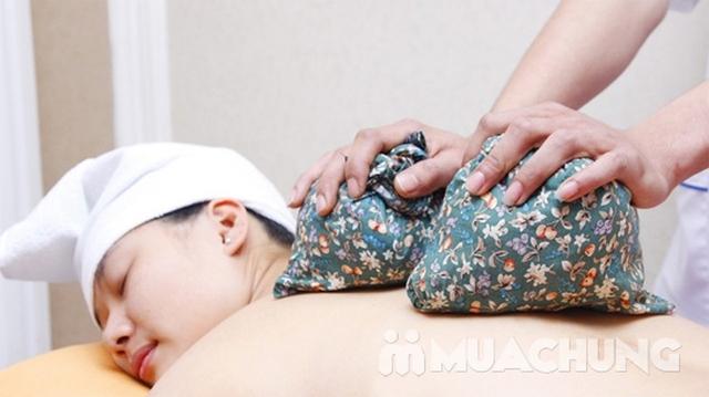Xông hơi đá muối + Massage body tại Muối spa - 16