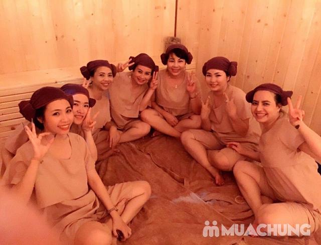 Xông hơi đá muối + Massage body tại Muối spa - 13
