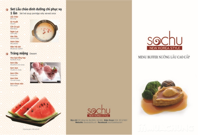 Buffet nướng lẩu Nhật - Hàn tại Nhà hàng Sochu - 1