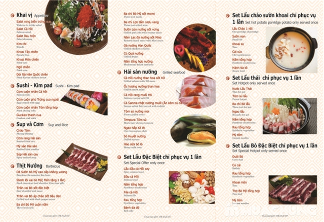Buffet nướng lẩu Nhật - Hàn tại Nhà hàng Sochu - 2