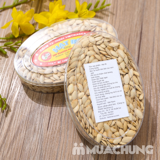 Combo 2 hộp hạt bí thơm bùi (300g/ hộp) - hàng VN - 10