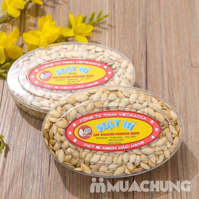 Combo 2 hộp hạt bí thơm bùi (300g/ hộp) - hàng VN - 6