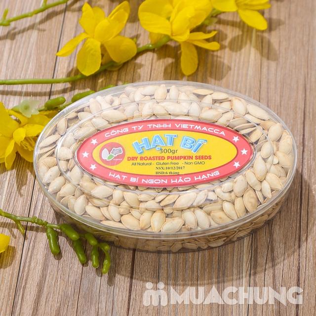 Combo 2 hộp hạt bí thơm bùi (300g/ hộp) - hàng VN - 7