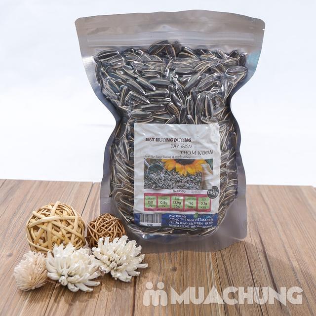 2 gói hạt hướng dương sấy giòn thơm ngon túi 350g  - 10