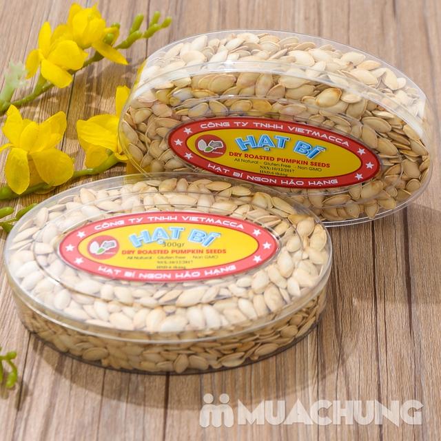 Combo 2 hộp hạt bí thơm bùi (300g/ hộp) - hàng VN - 13