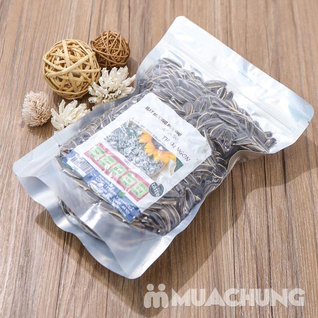 2 gói hạt hướng dương sấy giòn thơm ngon túi 350g  - 9